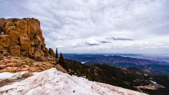 PIkes Peak Highway Overlook