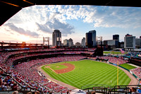 Busch Stadium in the Sunset 2